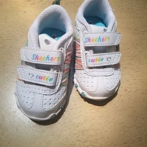 Skechers baby girl sneakers size 3